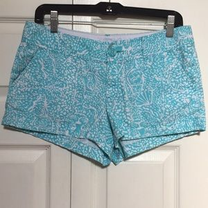 Lilly Pulitzer size 4 Walsh shorts